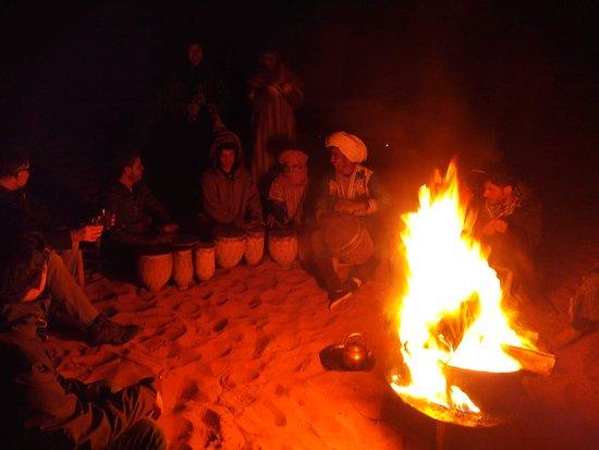 Dar Marhaba: Night at the camp