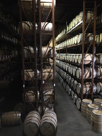 Waconia, Миннесота: Over 800 barrels in the barrel house