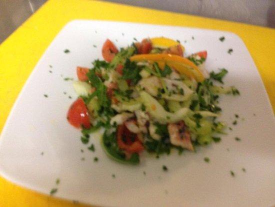 Olmedo, Italia: insalata di polpo