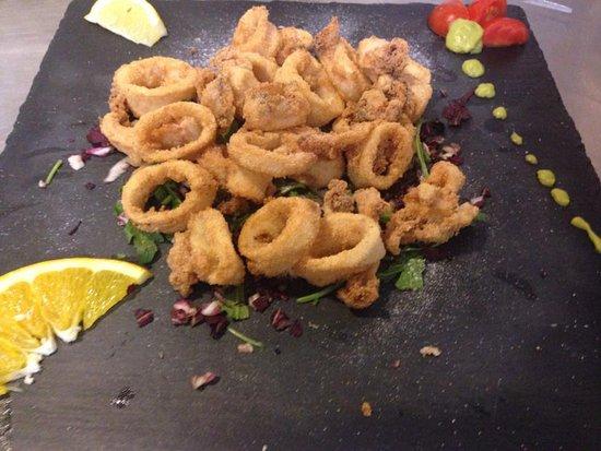 Olmedo, Италия: calamari fritti
