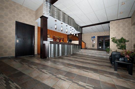 Motel Hauterive: Réception