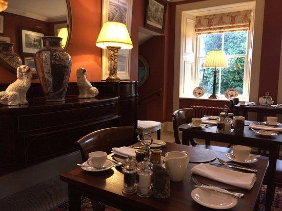 Cumnock, UK: Breakfast room