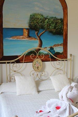 San Pantaleo, إيطاليا: Camera matrimoniale La Pelosa