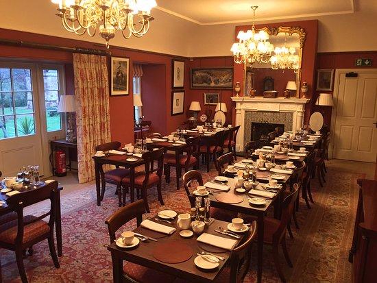 Cumnock, UK: Breakfast room extension