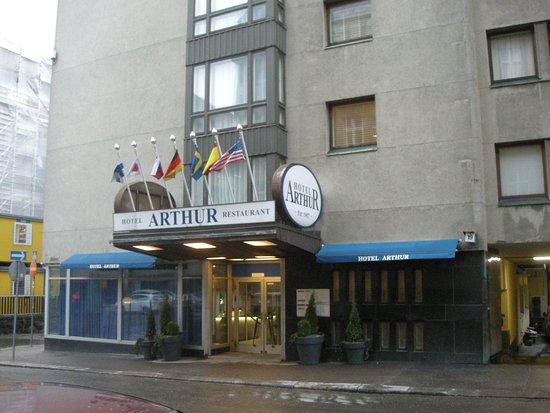 Arthur Hotel: Hotel Arthur outside