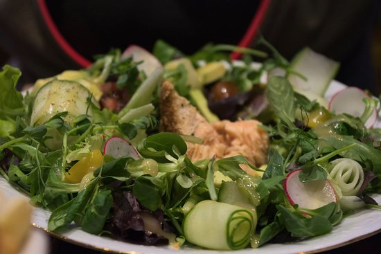 Hotel Gutenbergs: salad dish