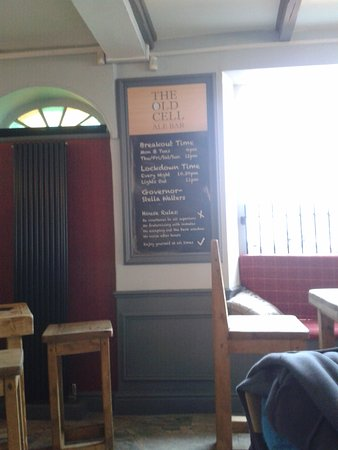 The Old Cell Ale Bar