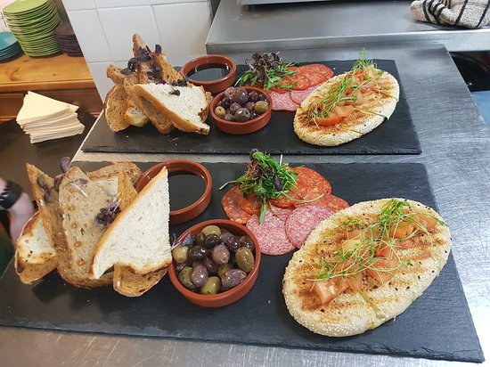 Cheadle, UK: Some of the tapas served over the weekend