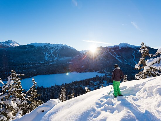 Snowshoeing in Whistler Photo by Mike Crane