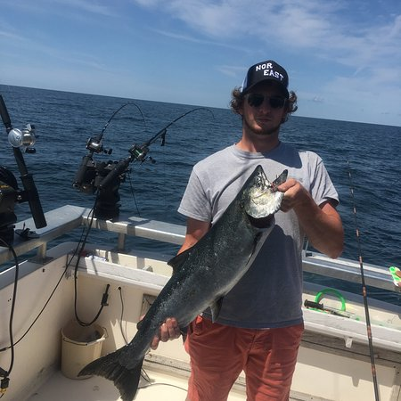 Pulaski, Estado de Nueva York: 7/20/16 chinook salmon