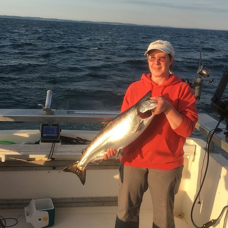 Pulaski, Estado de Nueva York: 7/21/16 chinook salmon