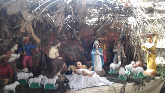 St. Louis Cathedral: Christmas nativity display