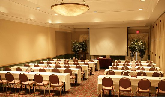 Brea, CA: Classroom Style Seating in a Section of the Ballroom