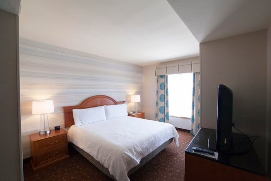 Hilton Garden Inn Albuquerque Airport: King Bed Junior Suite Bedroom Area