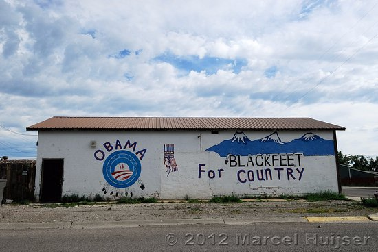 Browning, MT: Looks like the Natives should have voted for someone else, Good luck