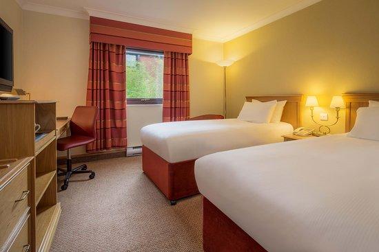 Hilton Warwick / Stratford-upon-Avon: Twin Hilton Guestroom