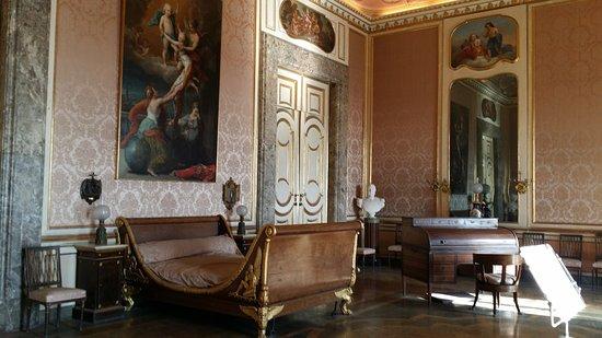 Camera da letto del re fotograf a de palacio real de - Camera da letto del papa ...