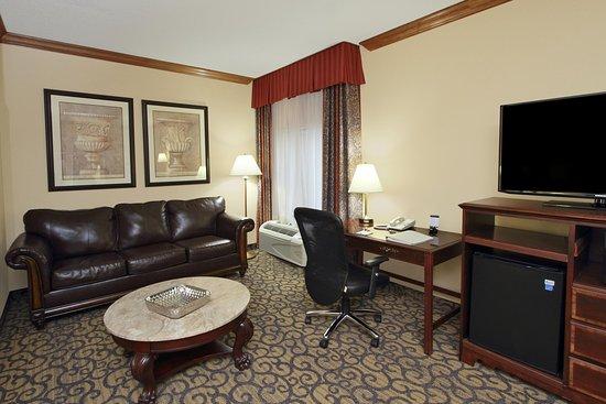 هامبتون إن برينستاون: King Suite Living Area