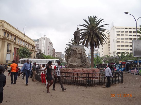 Tom Mboya Statue: Statue of Tom Mboya