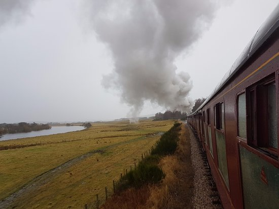 Aviemore, UK: Steam travel