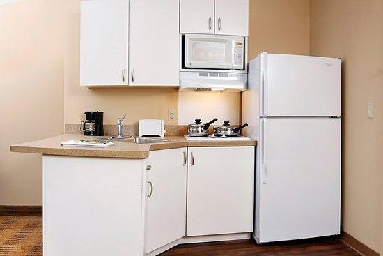 إكستيندد ستاي أمريكا إنديانابولس إيربورت: Fully Equipped Kitchens