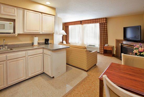 Fenton, MO: Honeymoon Suite Living Space