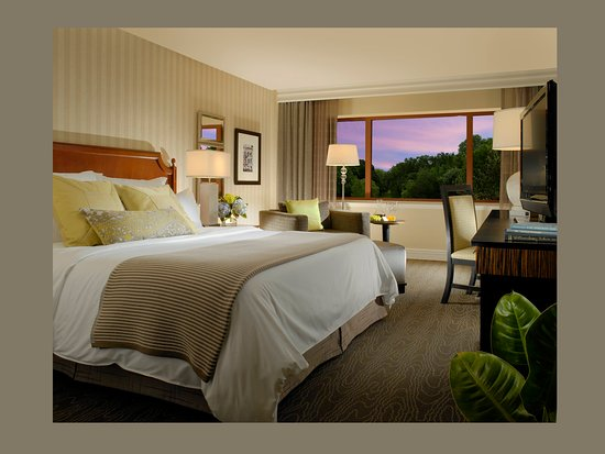 Omni Charlottesville: Deluxe King Room