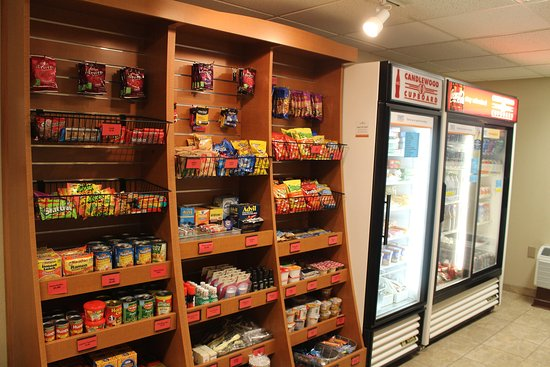 Schiller Park, IL: Candlewood Cupboard for any quick meals, snacks or essentials
