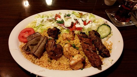 Mixed grill kabobs picture of bosphorus restaurant cary for An cuisine cary nc