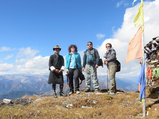 Above Cheli La Pass At Metres Above Sea Level Picture Of - Metres above sea level