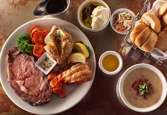 The Timbers Restaurant: $21.99 Prime Rib & Lobster