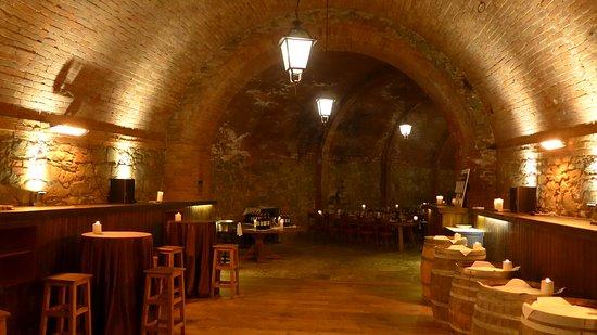 Castel Monastero: il ristorante