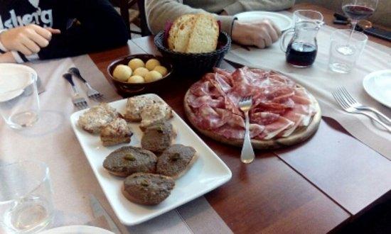 San Marcello Pistoiese, Italia: antipasti