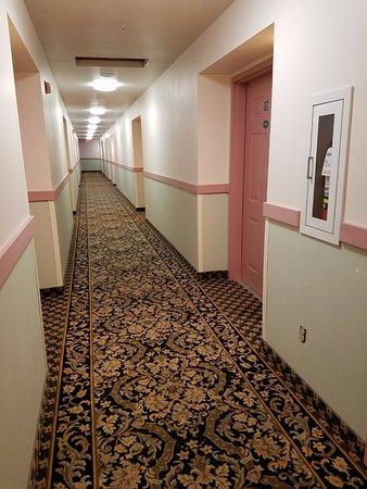 The Dew Drop Inn Motel: Guestroom Corridor