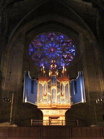 Beautiful Organ In St. Thomas Church   Midtown NY (06/Feb/17
