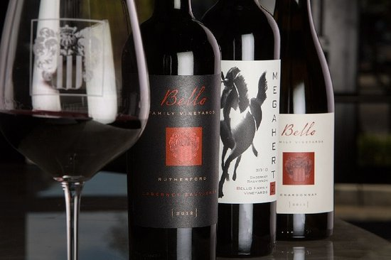 Rutherford, CA: Bello Family Vineyards Wines