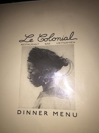 Le Colonial : Restaurant week