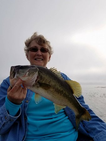 Roland Martin Marina: I can't wait to come back! MY fish averaged from 2-4 lbs.