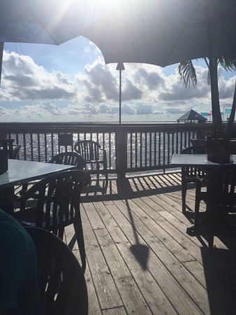 Sunset Grille & Raw Bar: View from our table