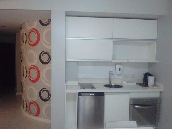 Tre Design Apartments: Cocina