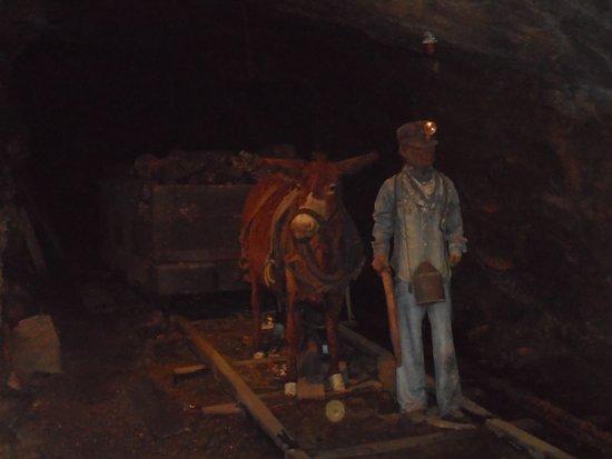 Lackawanna County Coal Mine : inside mine