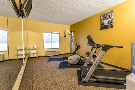 Brownsville, TN: Exercise room