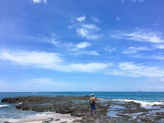 Bahia de los Piratas: Hermosa playa