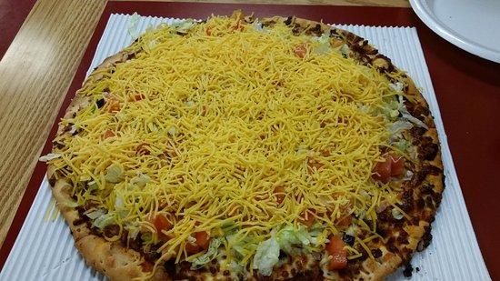 Vandalia, OH: Large Taco Pizza