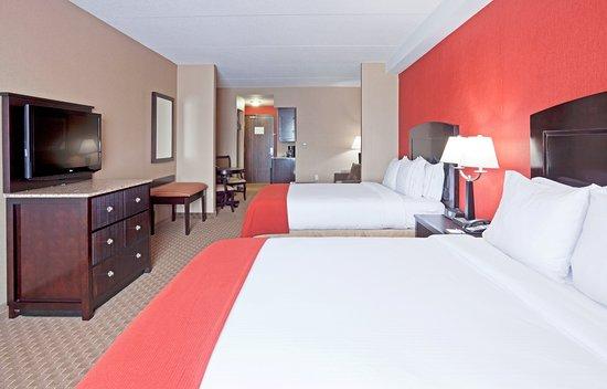 Γούντστοκ, Καναδάς: Double Bed Suite