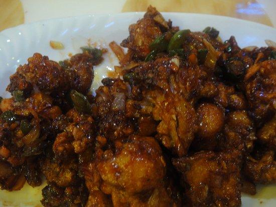 Seria, سلطنة بروناى: Another delicacy ; Gobhi Manchurian