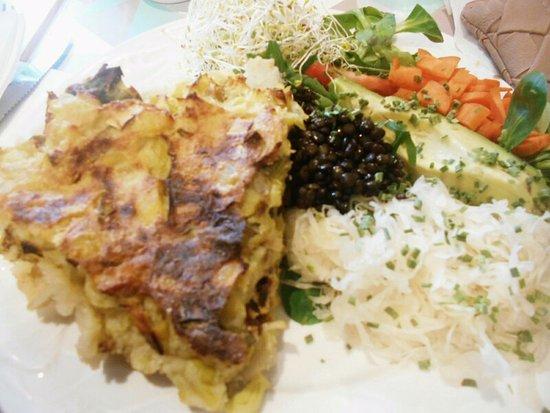 Le Speakeasy: Vegan food