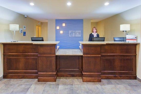 Courtenay, Canada: Front Desk