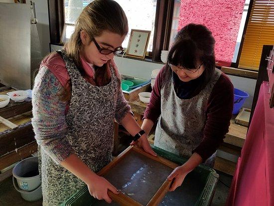 Takumi no Sato : making washi paper