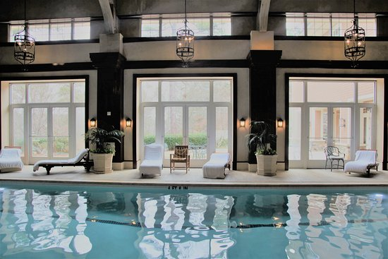 Greensboro, Georgien: The indoor pool